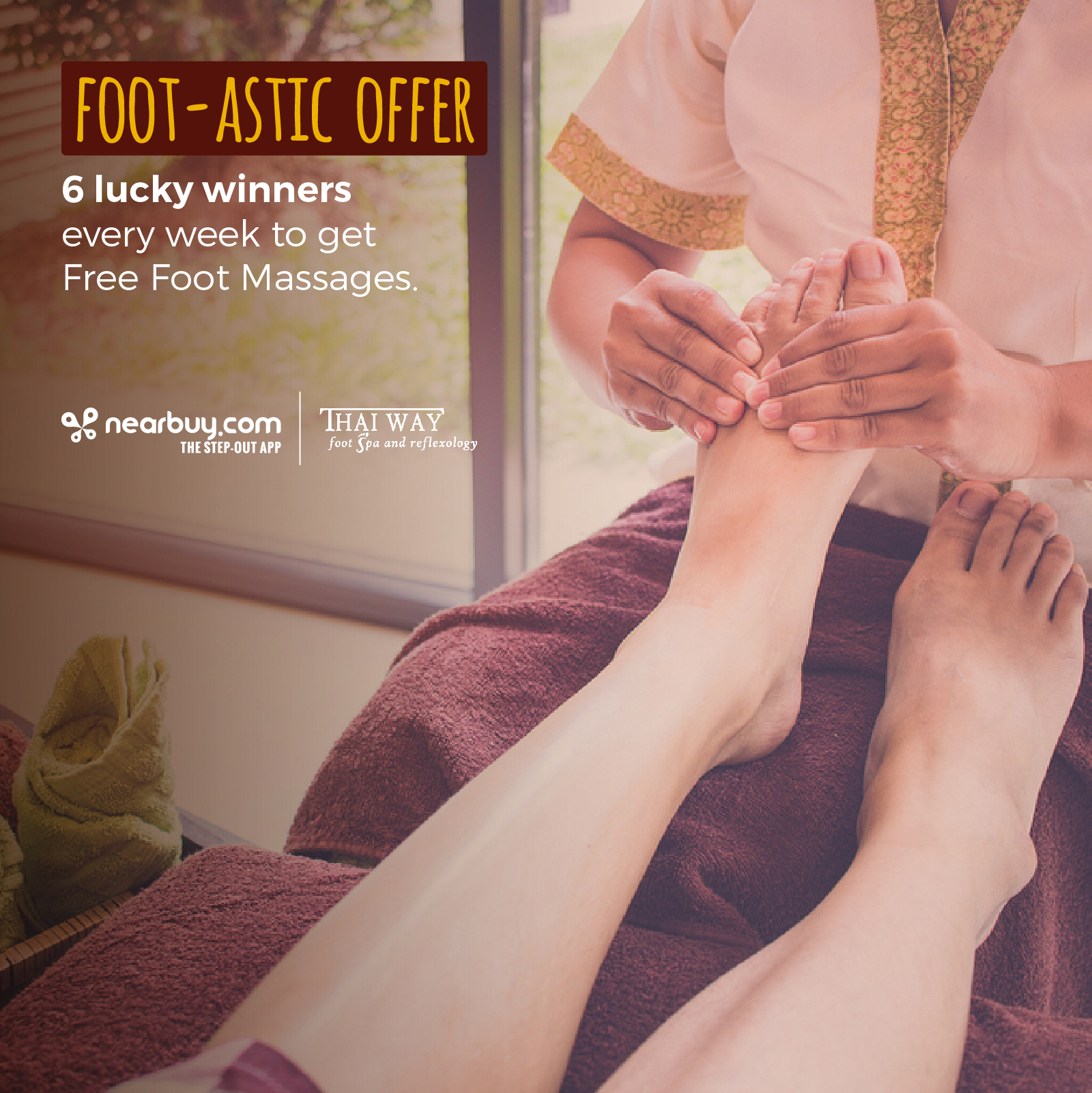 Winners - Free Foot Massages - Thaiway Foot Spa