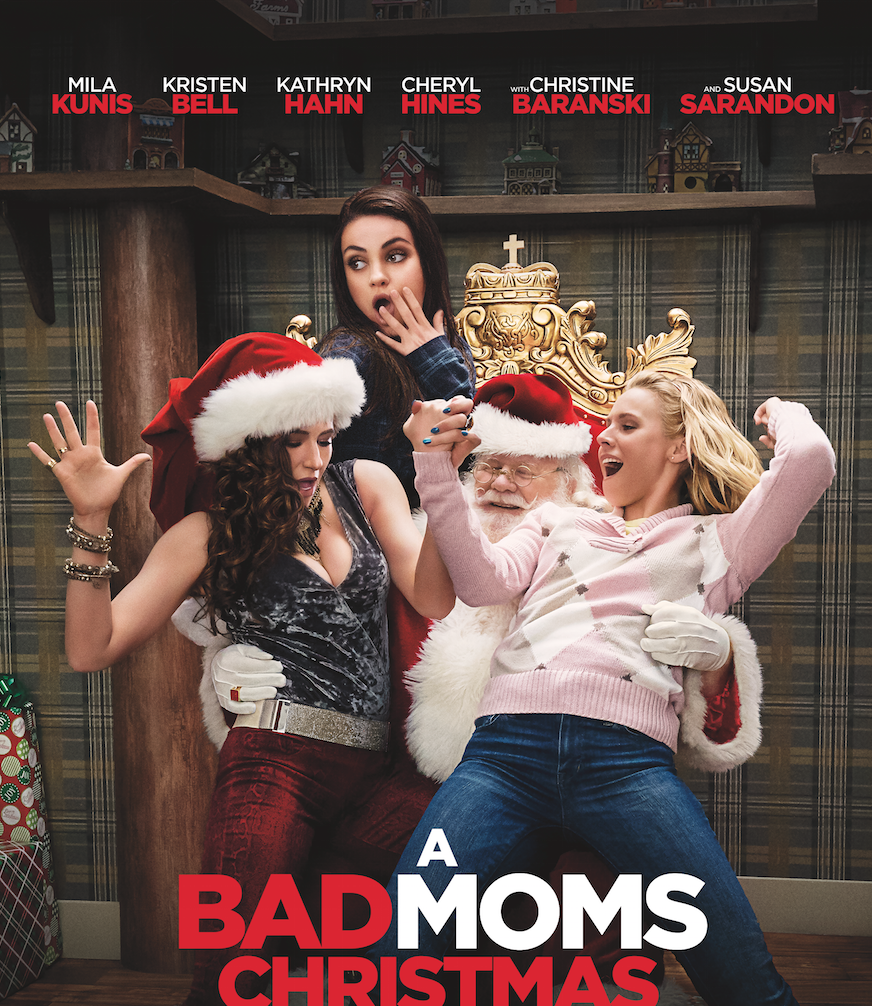 Winners - Free Movie Tickets - A Bad Moms Christmas